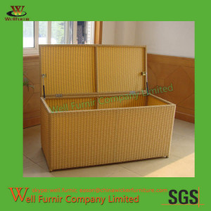 72 Gallon All-weather Wicker Storage Box Supplier in China WF-0954(3)
