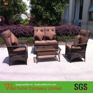 All-weather Wicker Conversation Set Supplier in China WF-1005