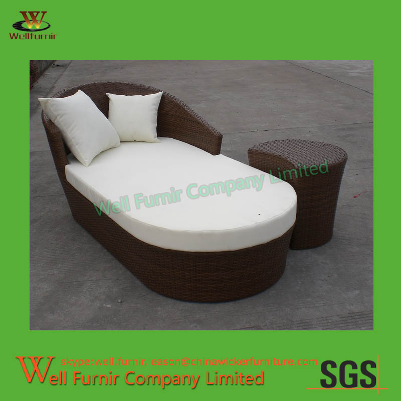 WF 0878 (7)wicker Chaise Lounge8 ...