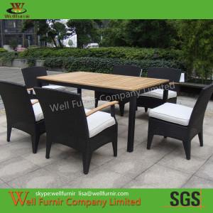 well furnir oudoor furniture supplier rattan dinning WF-0783