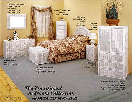 Rattan White Wicker Armoire | Rattan Wicker Furniture